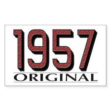 1957 Original Rectangle Decal