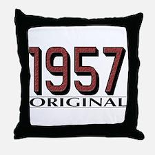 1957 Original Throw Pillow