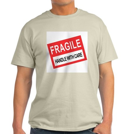 Fragile: Handle With Care Ash Grey T-Shirt