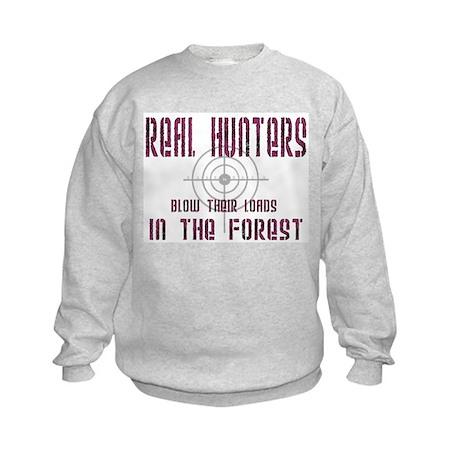 Real Hunters Kids Sweatshirt