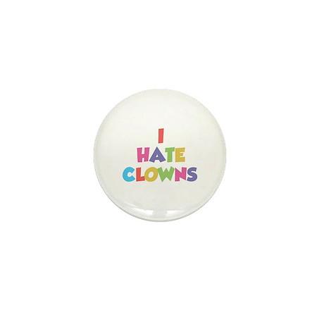 I Hate Clowns Mini Button (100 pack)