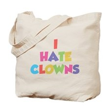I Hate Clowns Tote Bag