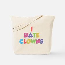 I Hate Clowns Tote Bag
