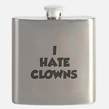 I Hate Clowns Flask