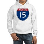 I-15 Highway Hooded Sweatshirt