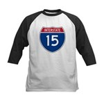 I-15 Highway Kids Baseball Jersey