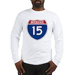 I-15 Highway Long Sleeve T-Shirt