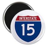 I-15 Highway Magnet