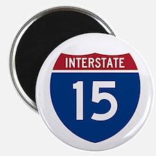 """I-15 Highway 2.25"""" Magnet (100 pack)"""