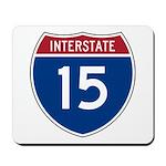 I-15 Highway Mousepad