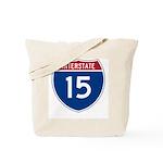 I-15 Highway Tote Bag