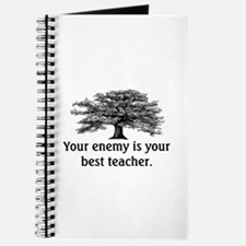ENEMY IS YOUR TEACHER Journal