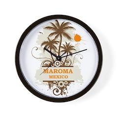 Maroma Mexico Wall Clock