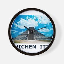 Chichen Itza Wall Clock
