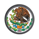 Mexico Coat Of Arms Wall Clock