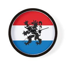 Netherlands Wall Clock