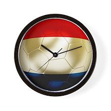 Netherlands Football Wall Clock