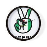 Nigeria Peace Wall Clock