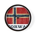 Vintage Norway Wall Clock