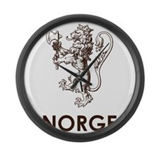 Norge Large Wall Clock