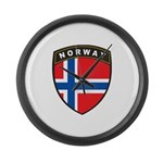 Norway Large Wall Clock