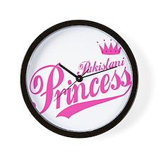 Pakistani Princess Wall Clock