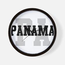 PA Panama Wall Clock