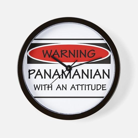 Attitude Panamanian Wall Clock