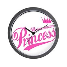 Panamanian Princess Wall Clock
