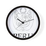Vintage Peru Wall Clock