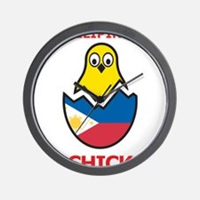 Filipino Chick Wall Clock