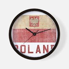 Vintage Poland Wall Clock