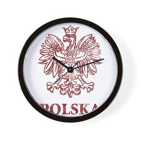 Vintage Polska Wall Clock