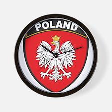 Poland Wall Clock