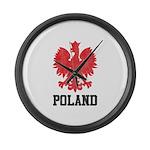 Vintage Poland Large Wall Clock
