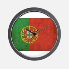 Vintage Portugal Flag Wall Clock