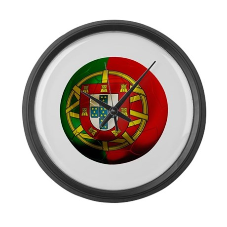 Portugal World Cup Large Wall Clock