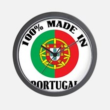 Made In Portugal Wall Clock