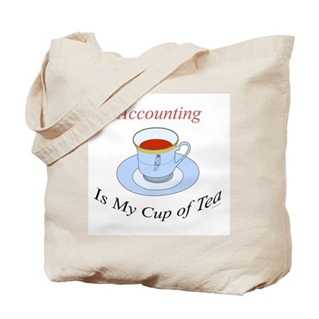 Accounting is my cup of tea Tote Bag