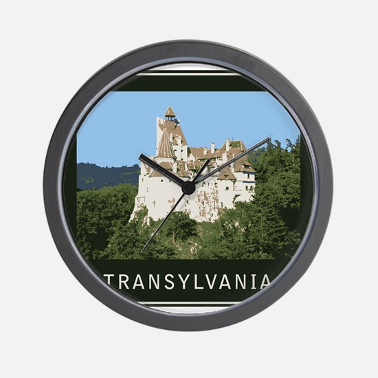Transylvania Bran Castle Wall Clock