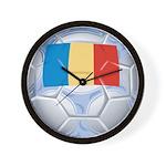 Romania Soccer Wall Clock