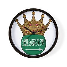 King Of Saudi Arabia Wall Clock