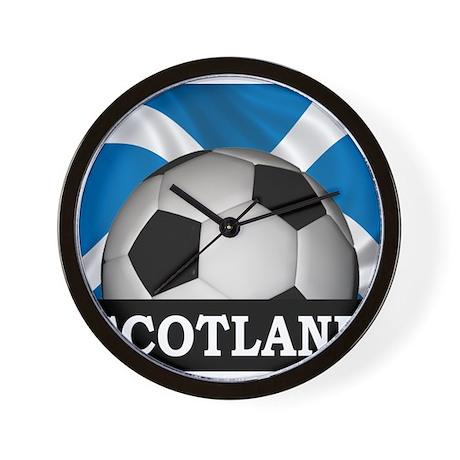 Football Scotland Wall Clock