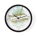 Scotland Rocks Wall Clock