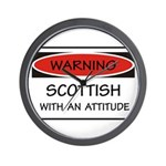 Attitude Scottish Wall Clock