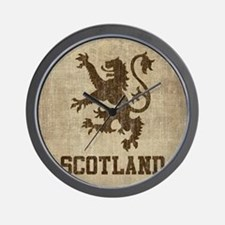 Vintage Scotland Wall Clock