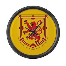 Scotland Emblem Large Wall Clock