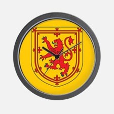 Scotland Emblem Wall Clock