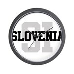 SI Slovenia Wall Clock