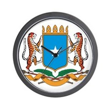 Somalia Coat Of Arms Wall Clock